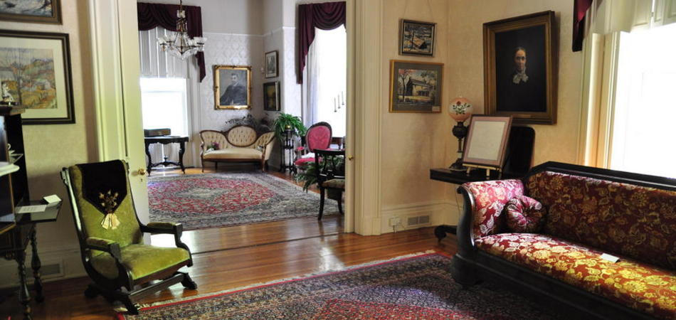 """A Victorian mansion, circa 1865, provides an elegant location for your event."""