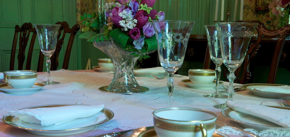 """Step back in time with Victorian ambiance and elegant presentations."""